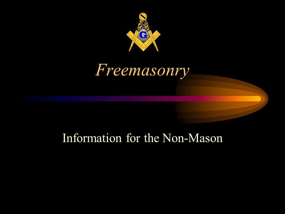 Freemasonry Information for the Non-Mason