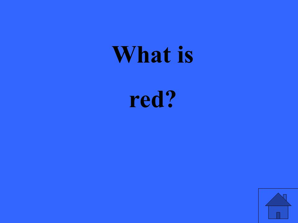 What is red