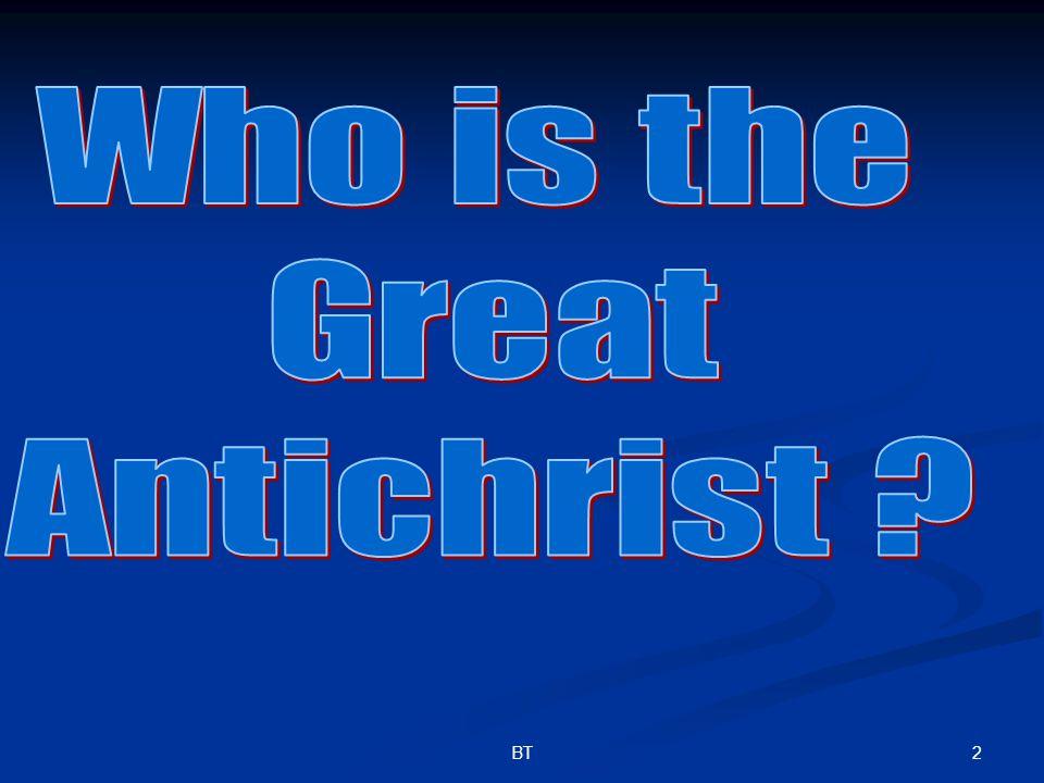 33BT He Shall Exalt \ Magnify Himself Daniel 11:36