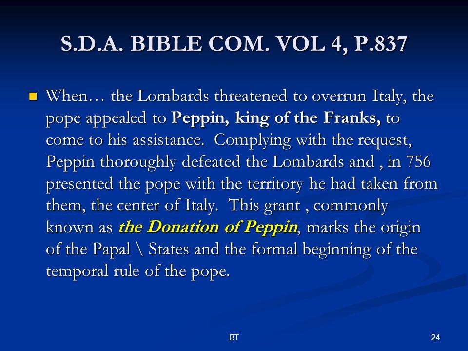 24BT S.D.A. BIBLE COM.