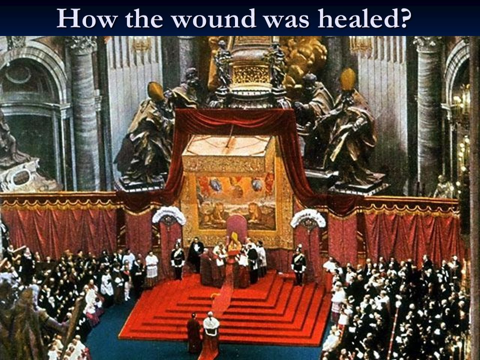 51BT How the wound was healed