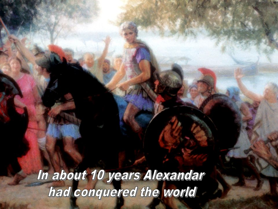 29BT Great Words By The Horn The great Judgment scene.