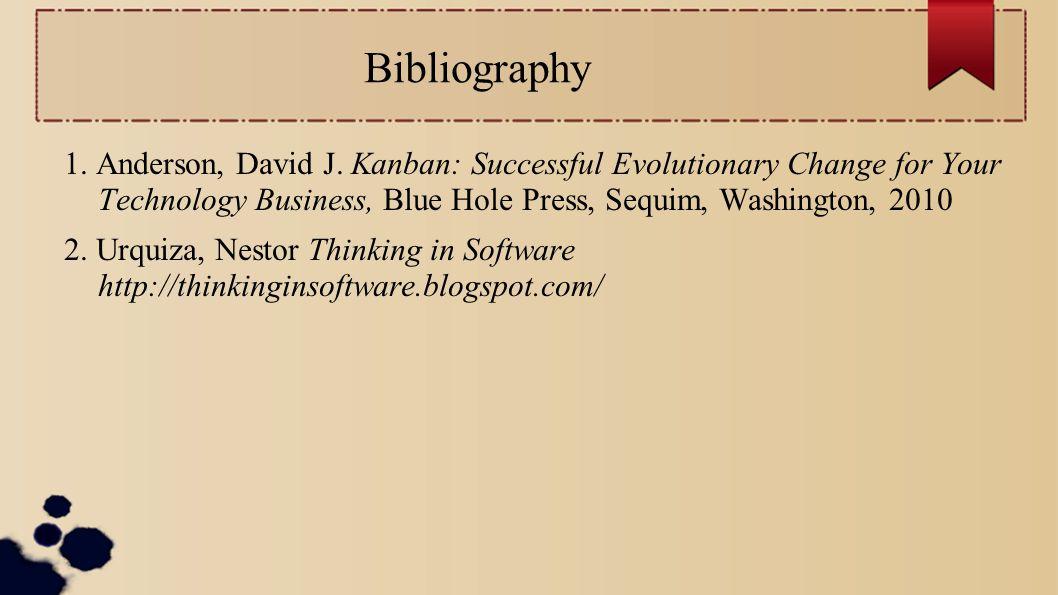 Bibliography 1. Anderson, David J.