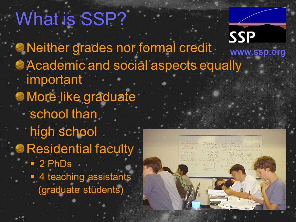 www.ssp.org What is SSP.