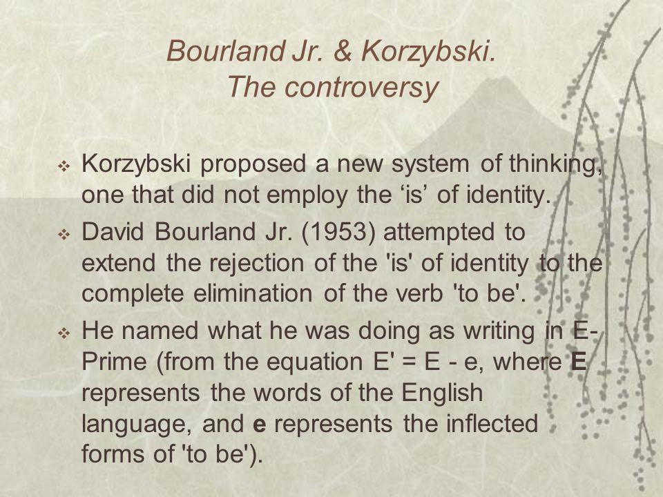 Bourland Jr. & Korzybski.