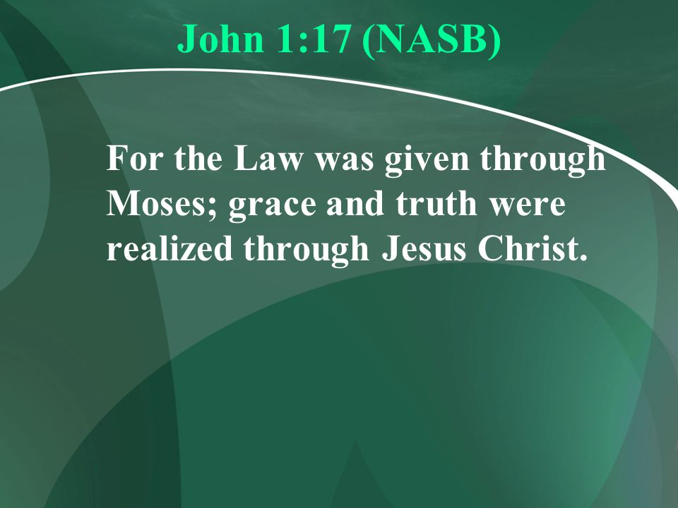 Romans 3:19-20 (NASB) 19 Now we know that whatever the Law says, it speaks to those who are under the Law, that every mouth may be closed, and all the world may become accountable to God; 20 because by the works of the Law (meritorious works - ML) no flesh will be justified in His sight; for through the Law comes the knowledge of sin.