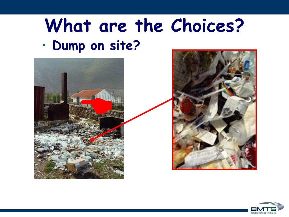  Dump on site?
