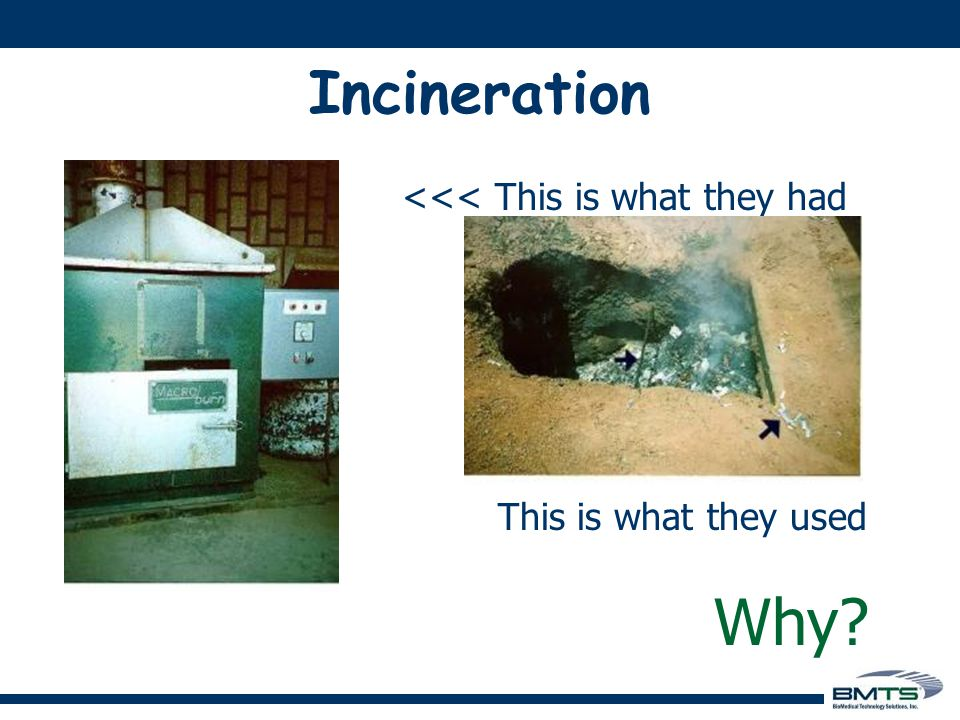 Incineration is polluting