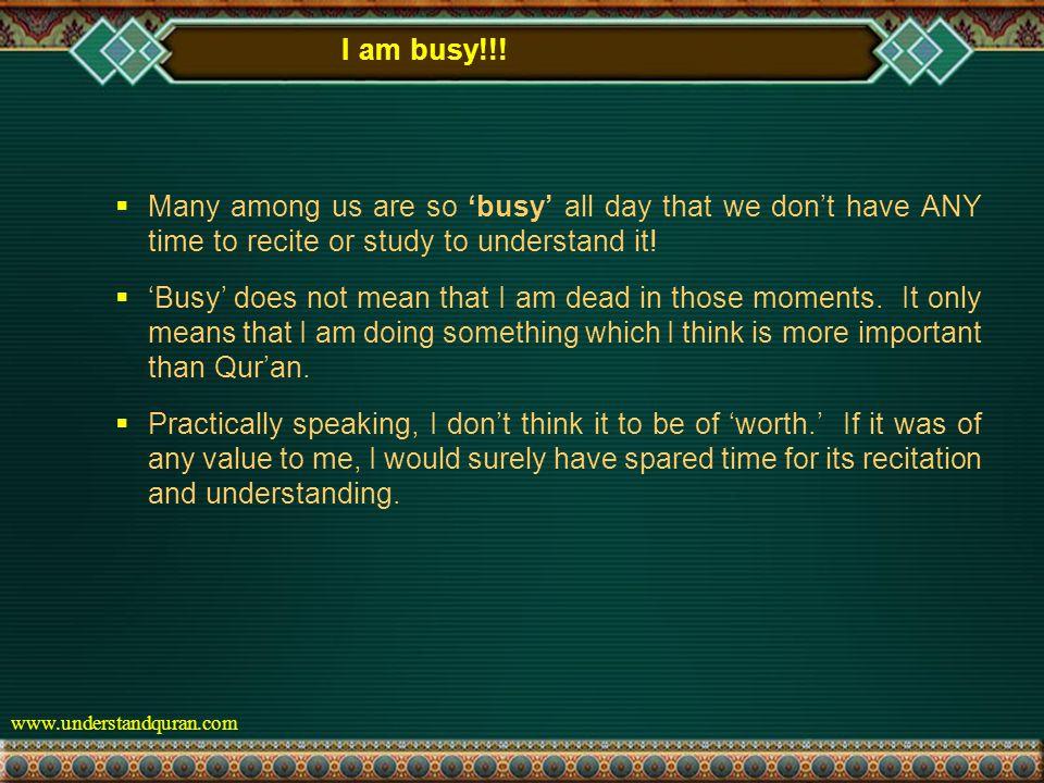 www.understandquran.com I am busy!!.
