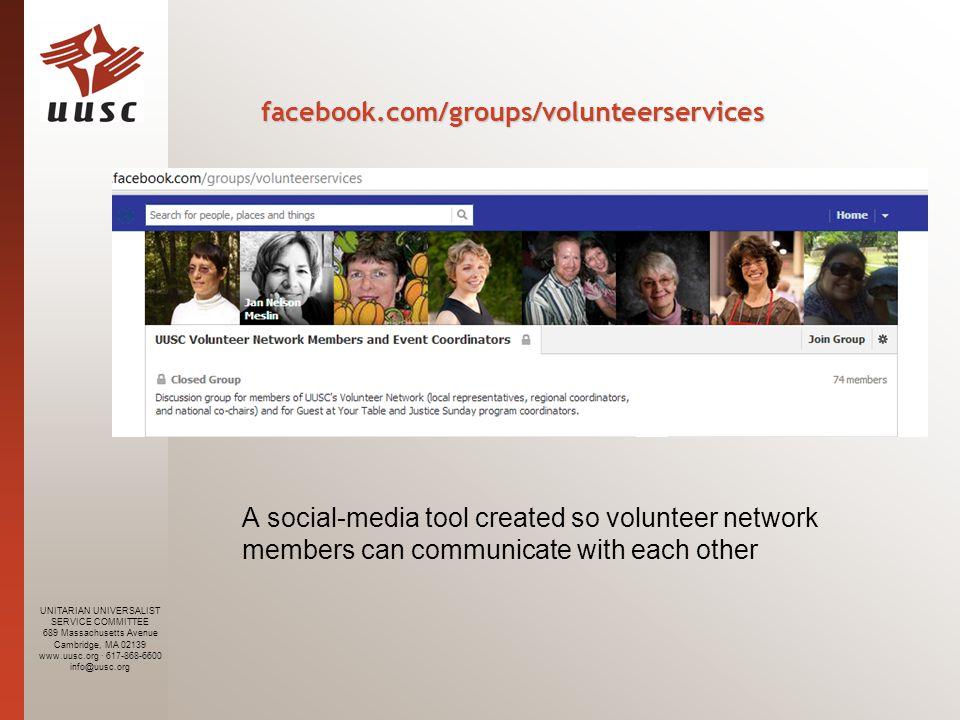 UNITARIAN UNIVERSALIST SERVICE COMMITTEE 689 Massachusetts Avenue Cambridge, MA 02139 www.uusc.org · 617-868-6600 info@uusc.org Two-Part Promotion Process 1.Share the blog post.
