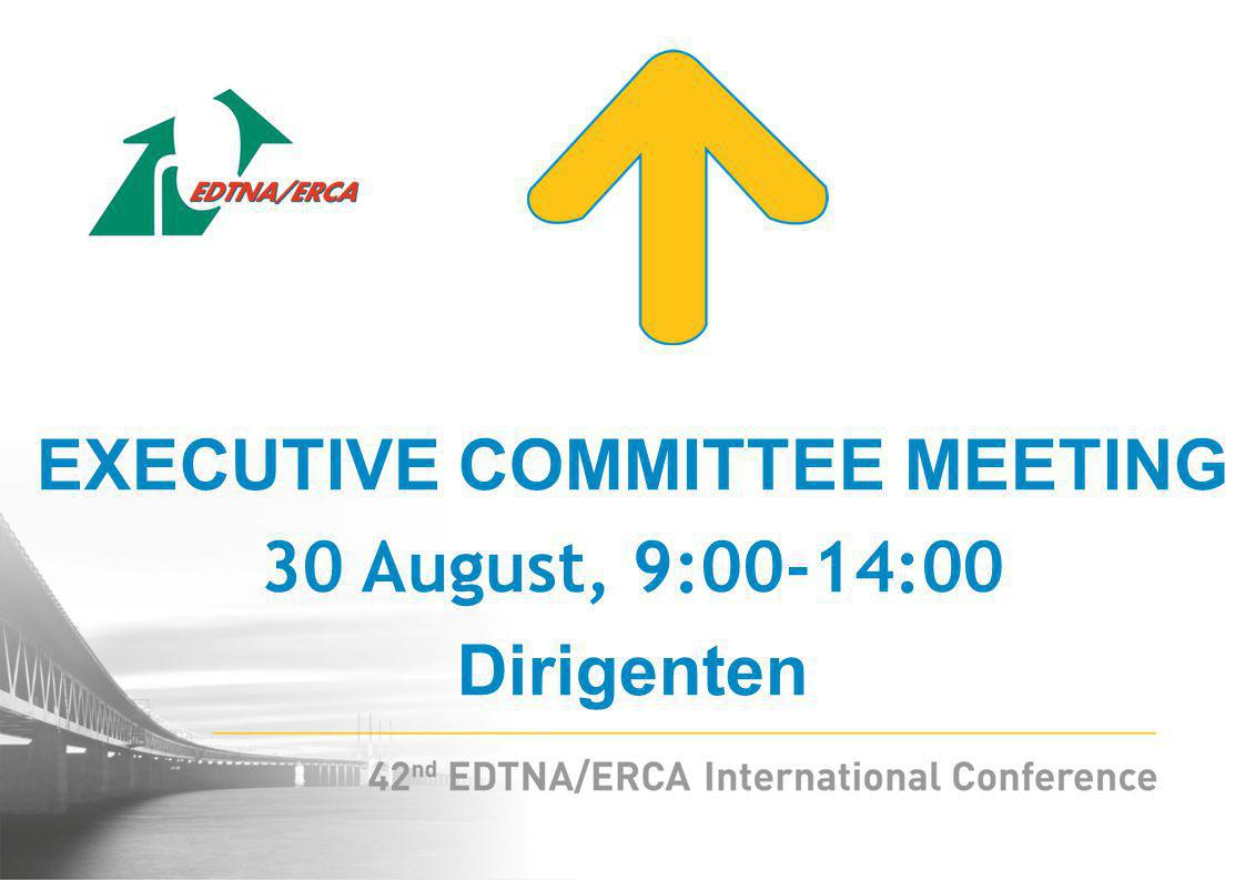 KM/LM/ILM MEETING 30 August, 14:00-17:00 Dirigenten