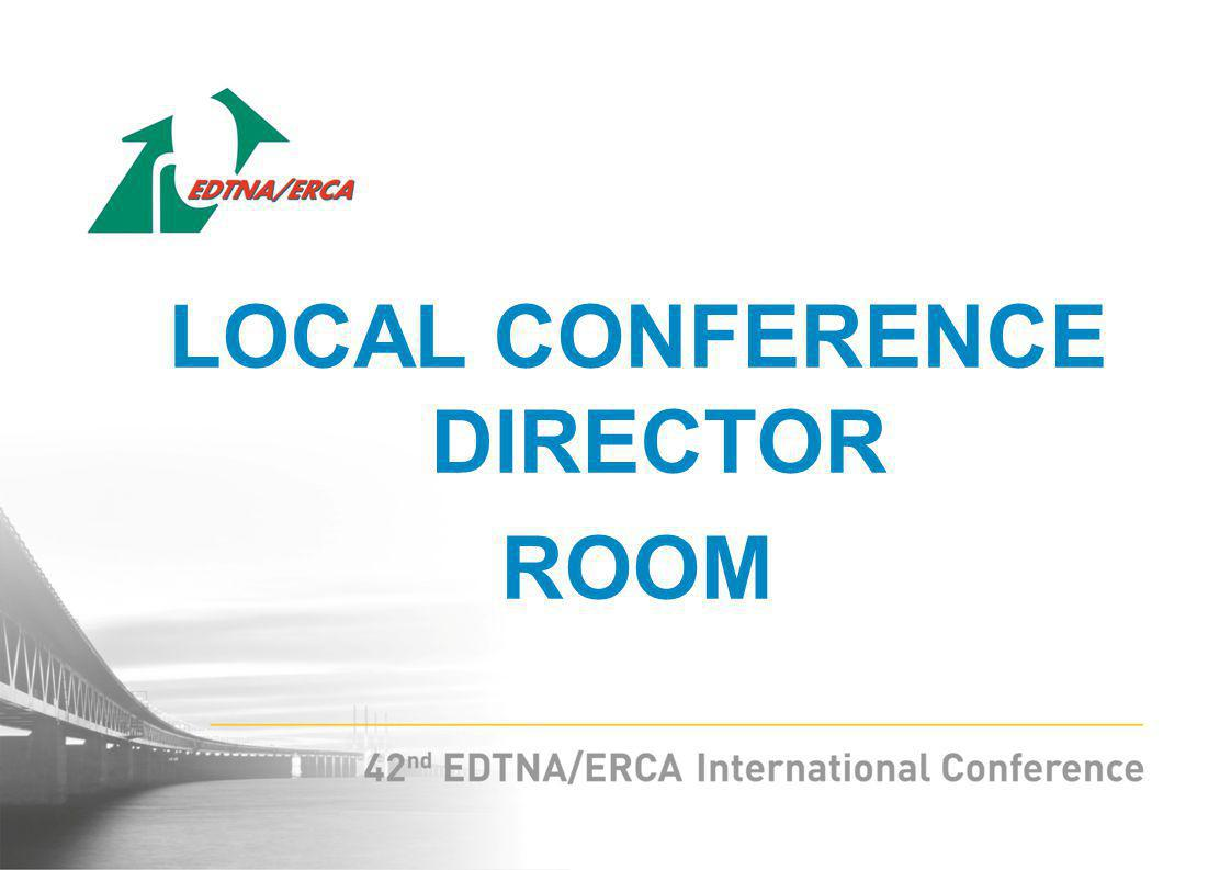 LOCAL CONFERENCE DIRECTOR ROOM