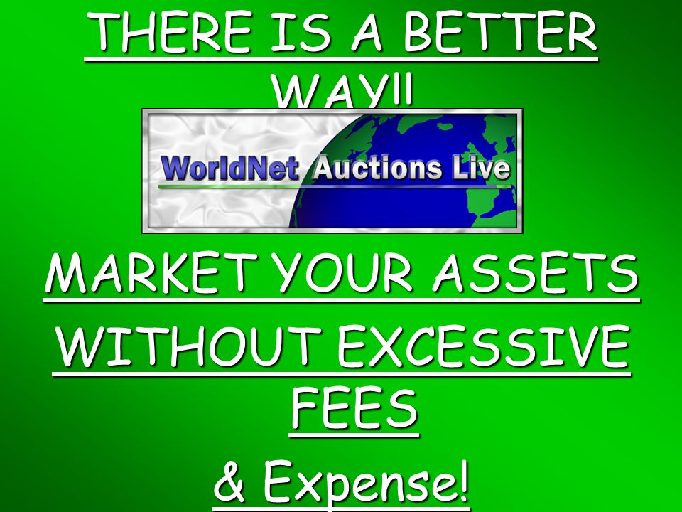 ONLINE AUCTIONS THE WAY THEY SHOULD BE! WITH A LIVE AUCTIONEER!