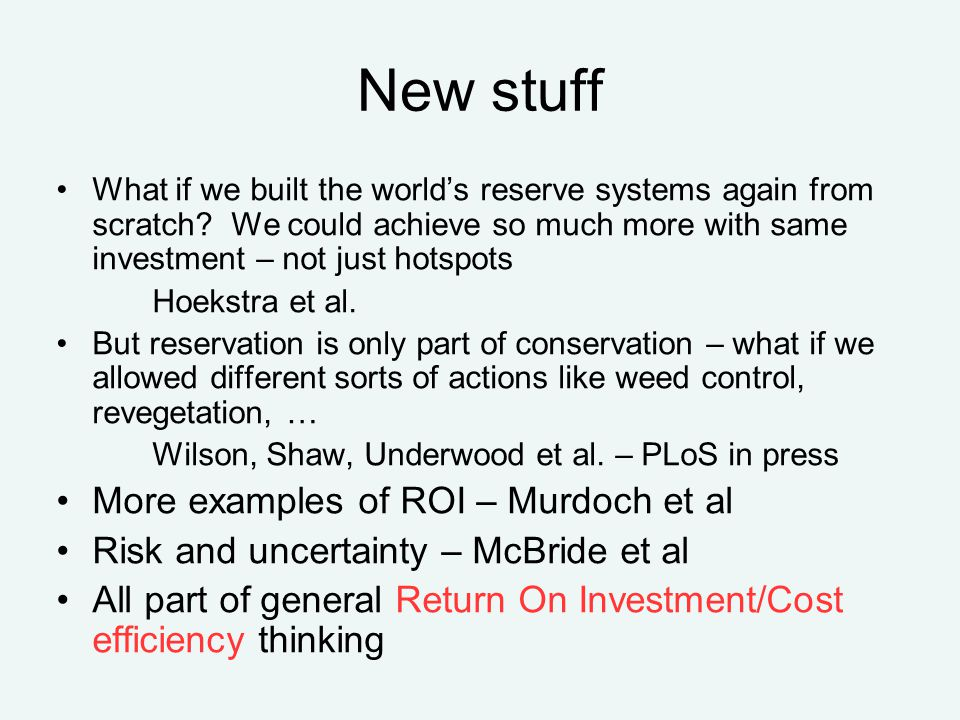 New stuff What if we built the world's reserve systems again from scratch.