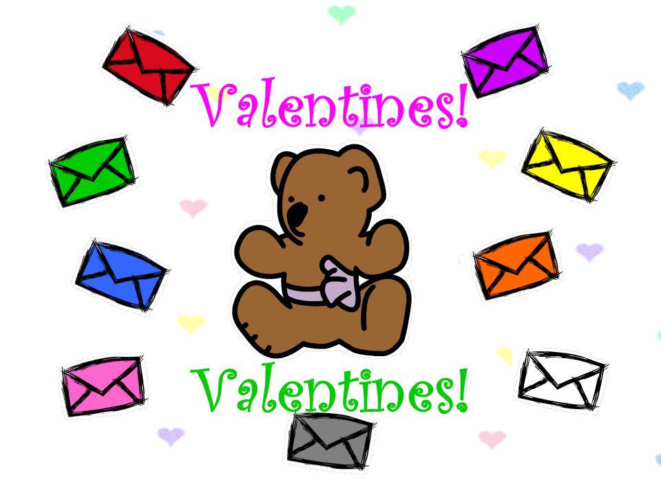 Look a valentine! Is it mine? orange