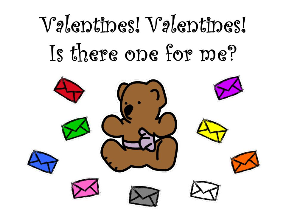 Look a valentine! Is it mine? red