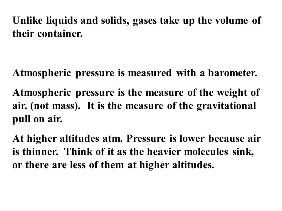 To get the Real Volume, we have to realize that the volume of the container is not truly the volume of the gas.