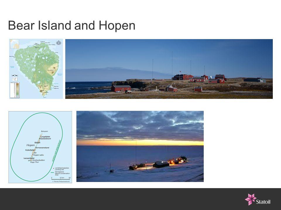 Bear Island and Hopen