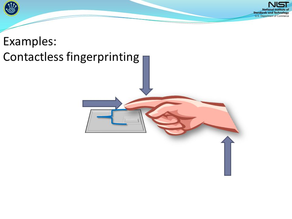 Examples: Contactless fingerprinting