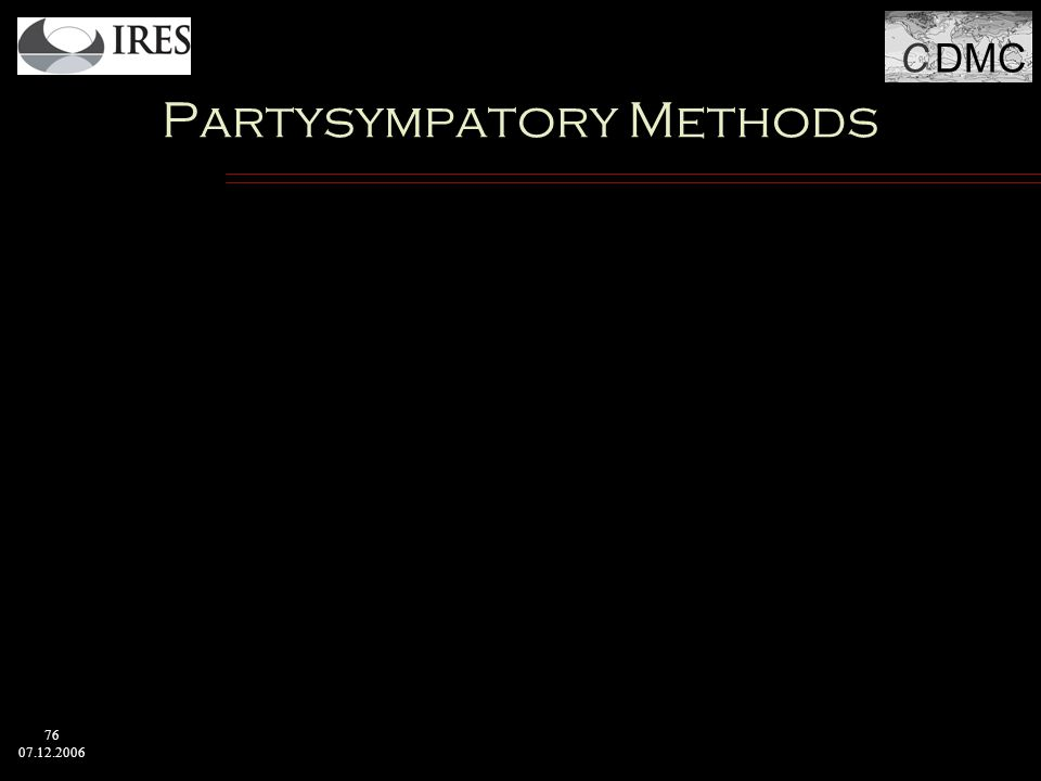 C DMC 76 07.12.2006 Partysympatory Methods