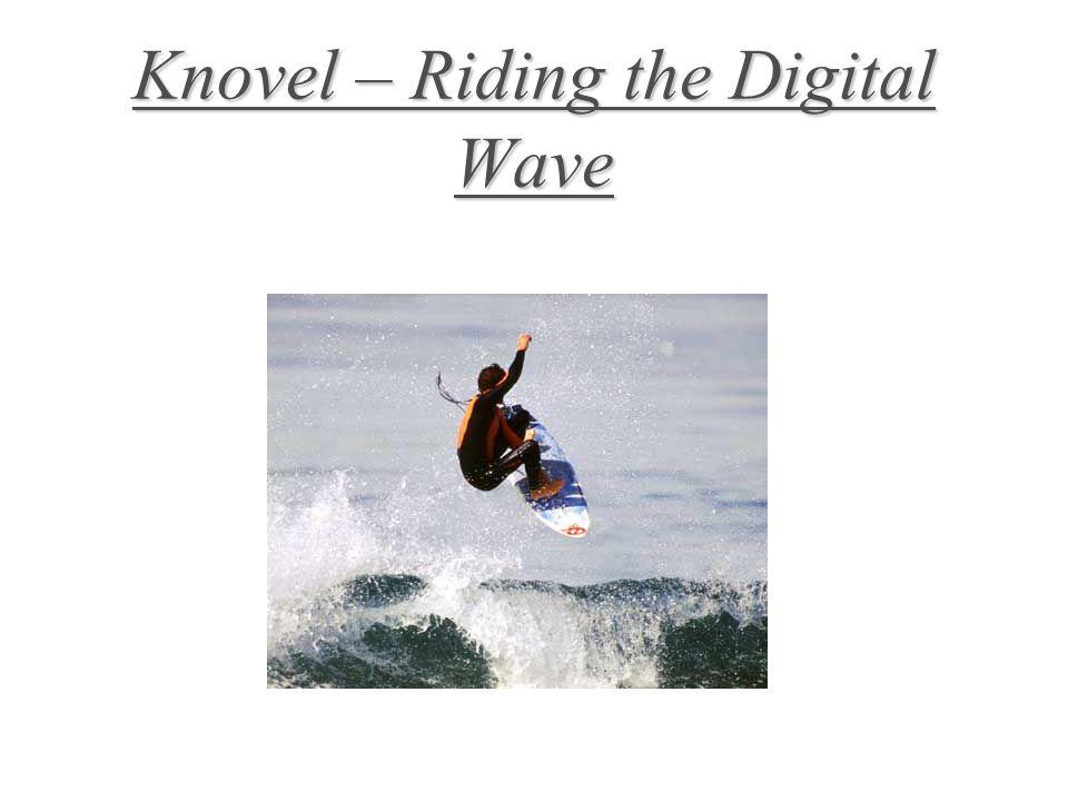 Knovel – Riding the Digital Wave