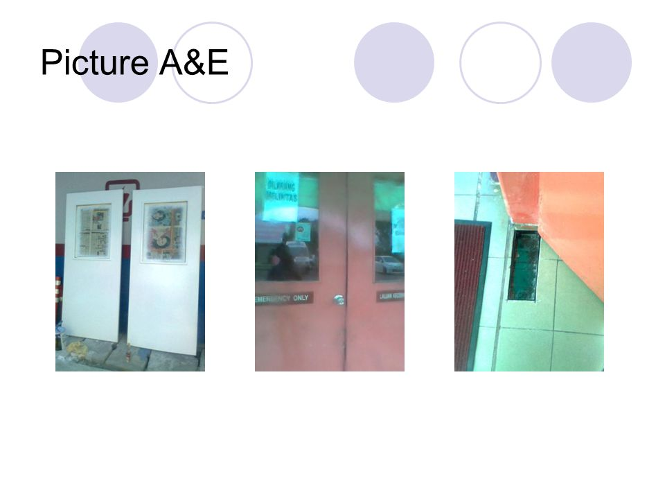 Picture A&E