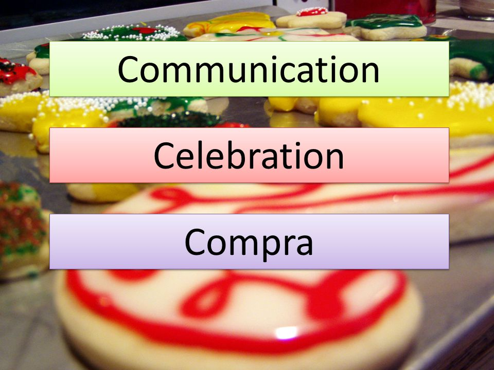 Communication Celebration Compra