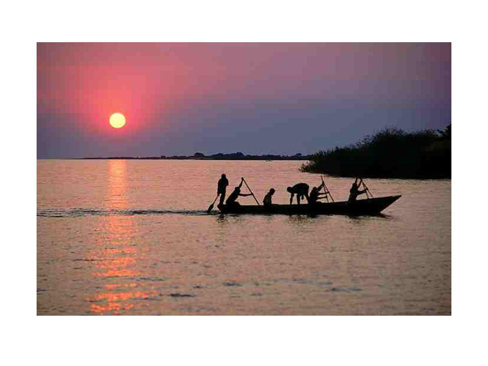 African Geography Lake Taganyika is the longest lake at 420 miles as well as the 2 nd deepest lake in the world (4710 feet) after Lake Victoria.