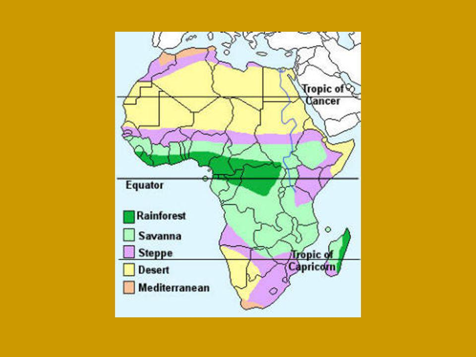 What is Africa's Climate.