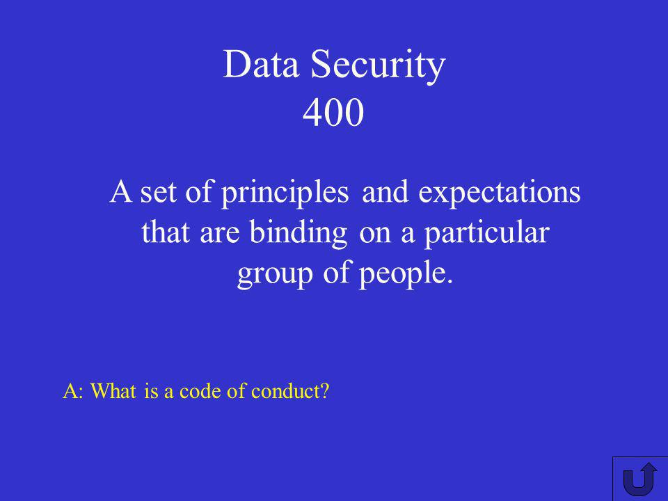 Data Security 300 A. What are 3 privacy principles of the Privacy Act (1988)? Individuals are entitled to see their information. Information may not b