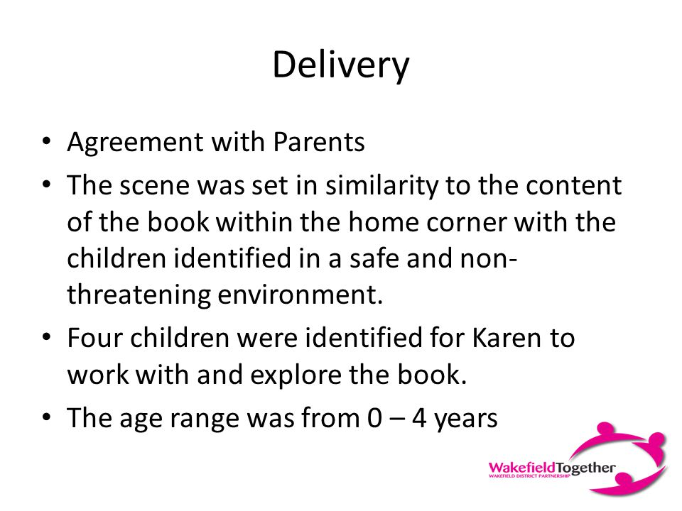 Context This resource was piloted whilst the Freedom Programme was delivered at Acorn Children Centre, Castleford by Well Women Service. The Freedom P