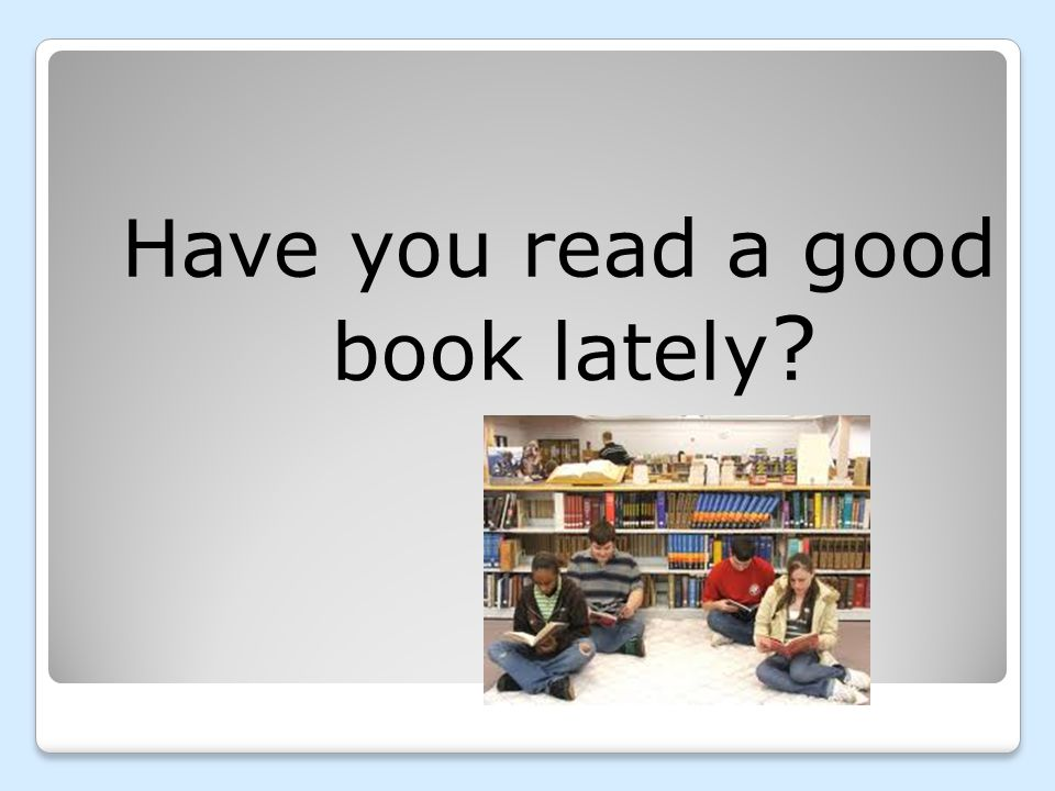 What was your first reading memory?