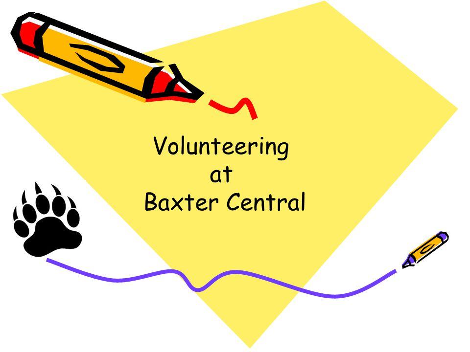 Volunteering at Baxter Central