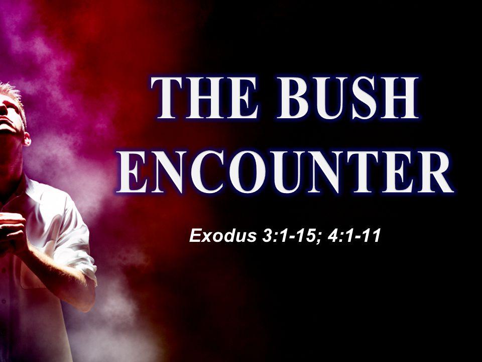Exodus 3:1-15; 4:1-11