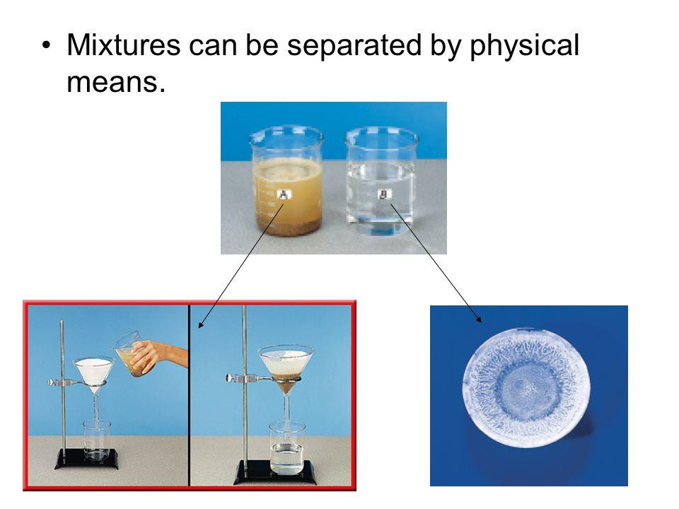 A homogeneous mixture has constant composition throughout
