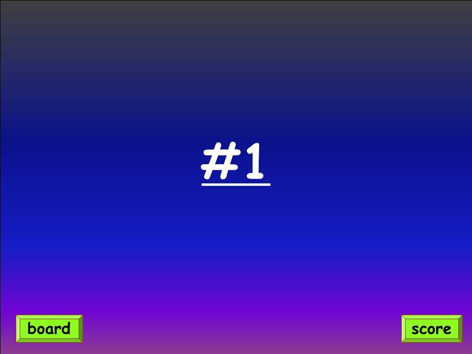 #1 scoreboard