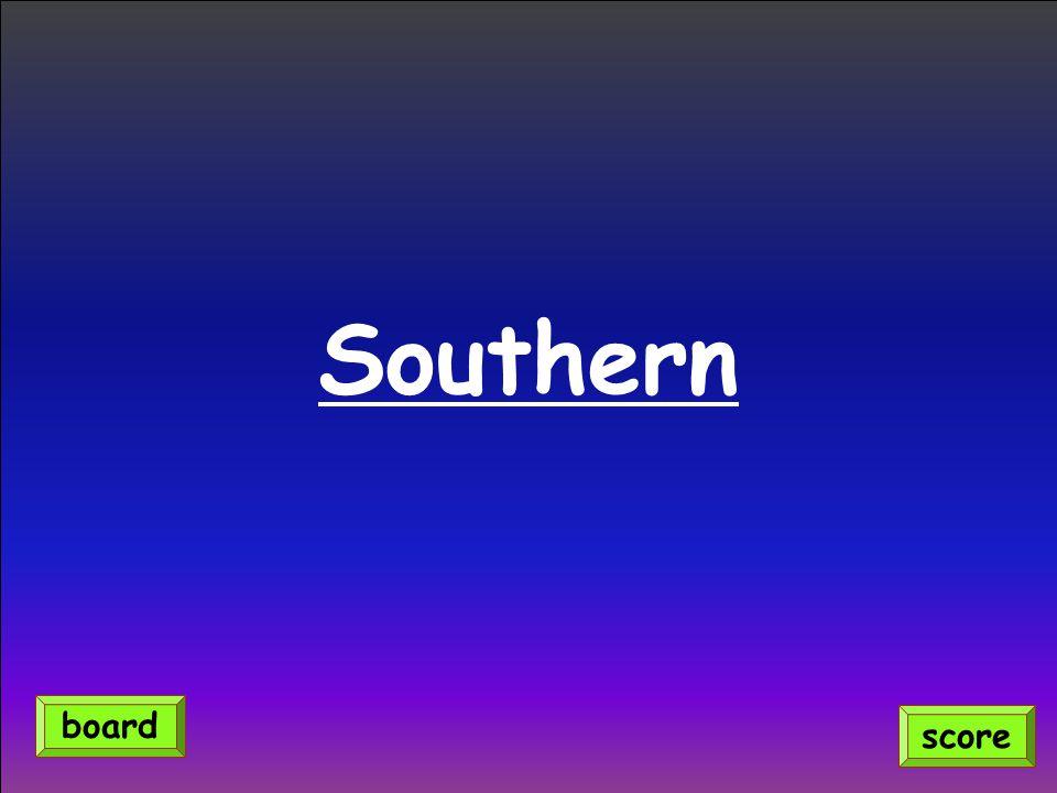 Southern score board