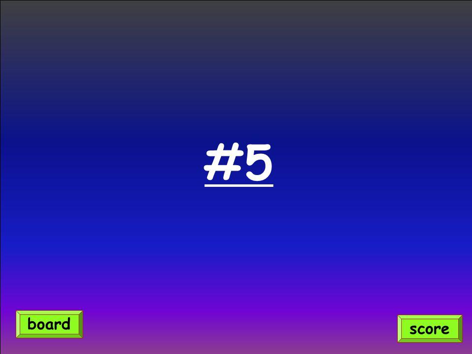 #5 score board