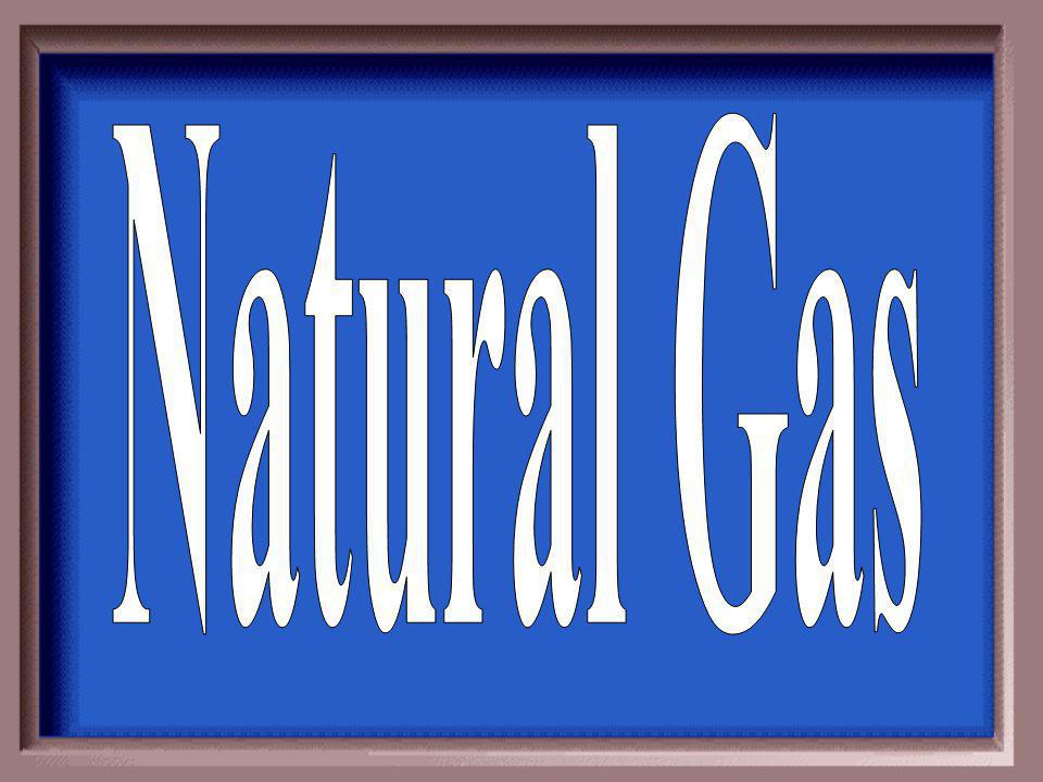The fuel natural gas makes that is used in BBQ's.