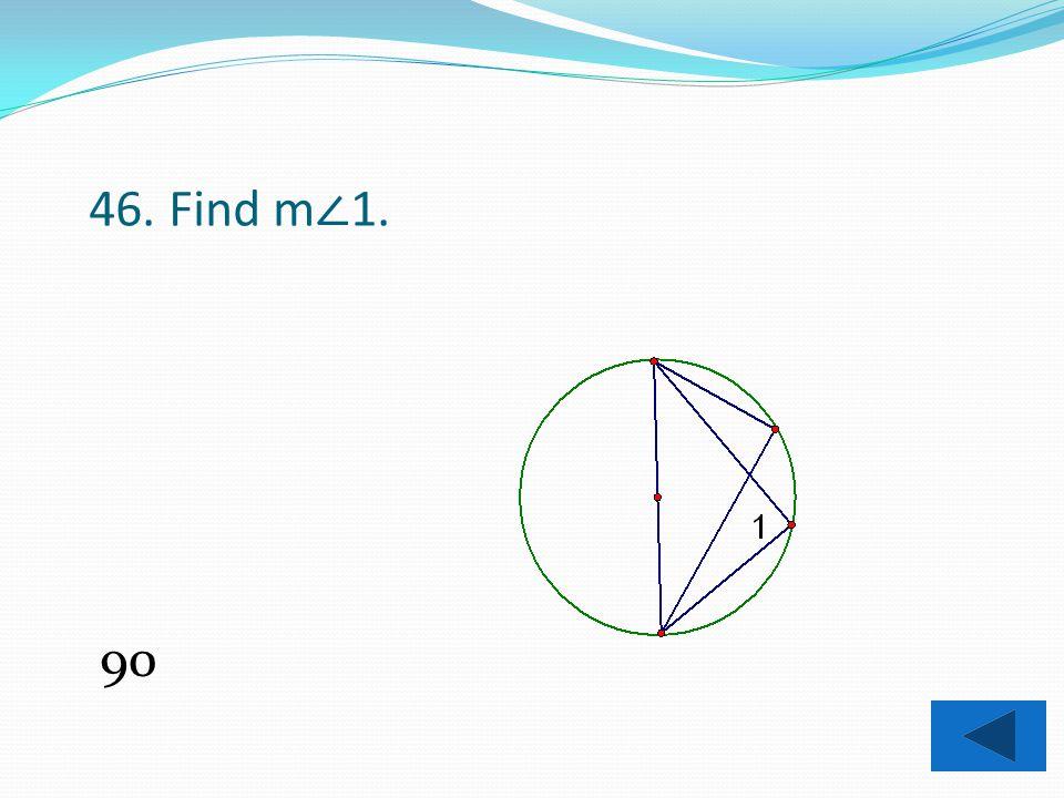 45. Find x. 13.67