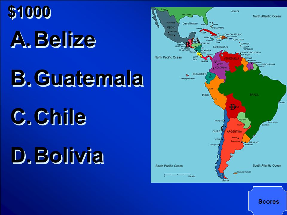 $1000 Which is the richest nation in Latin America in terms of income, education, and health
