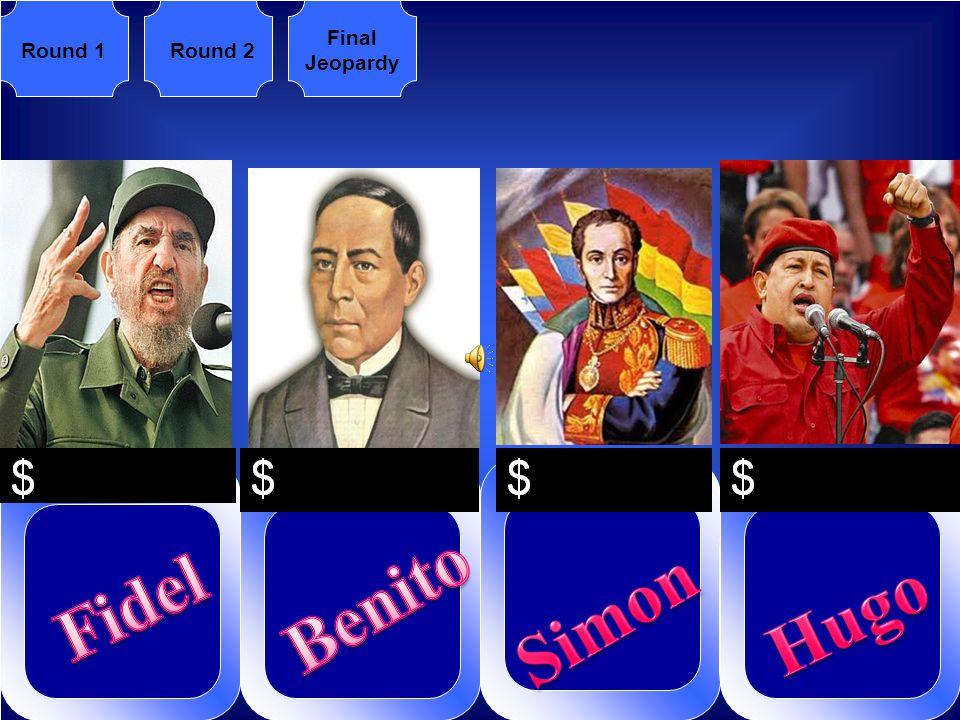 Round 1Round 2 Final Jeopardy