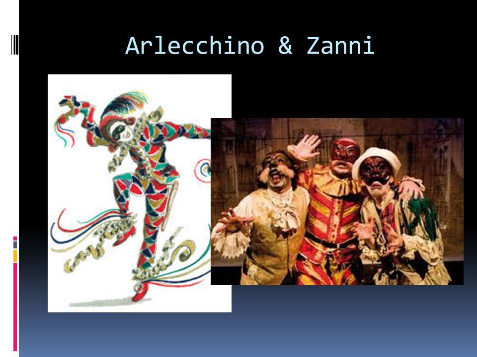 Arlecchino & Zanni