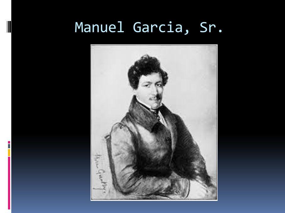 Manuel Garcia, Sr.