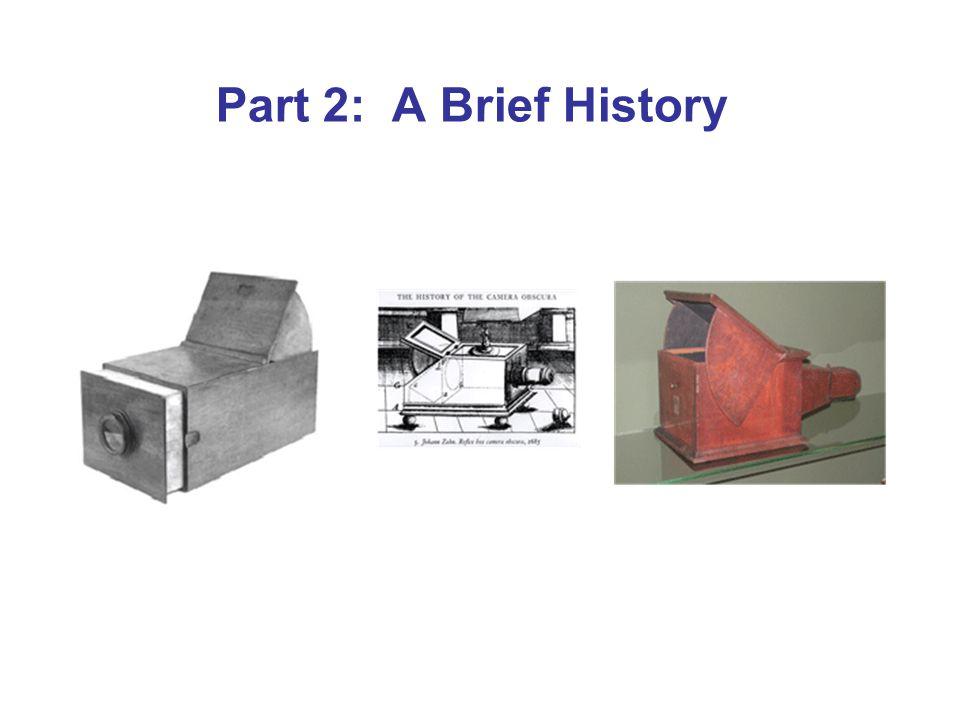 Part 2: A Brief History
