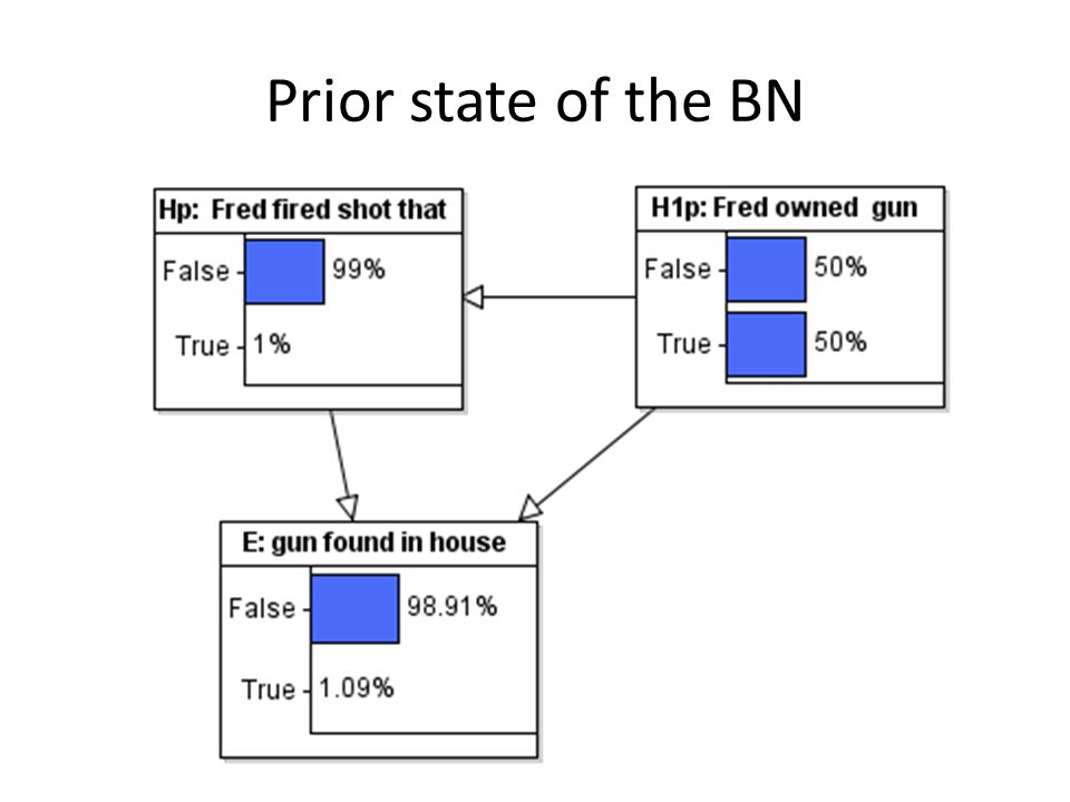 Prior state of the BN