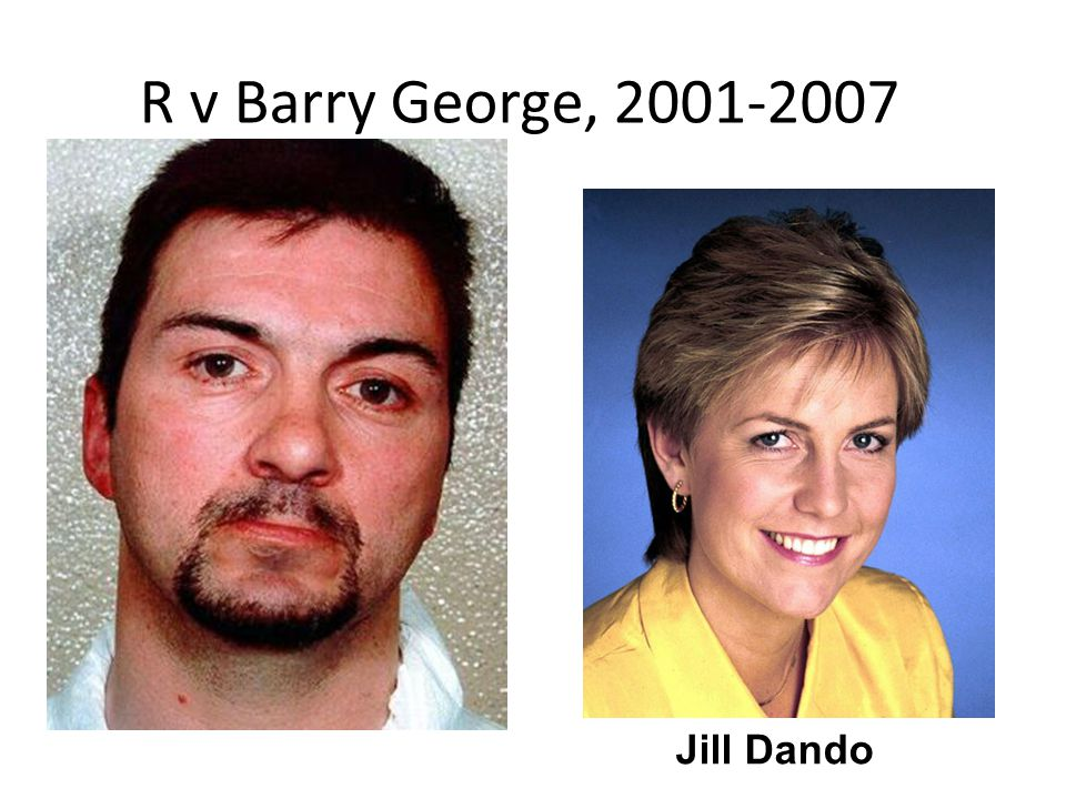 R v Barry George, 2001-2007 Jill Dando