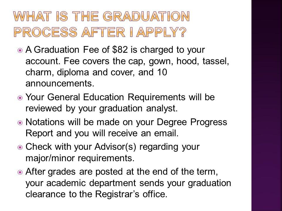  Make sure you have 120 total adjusted credits.
