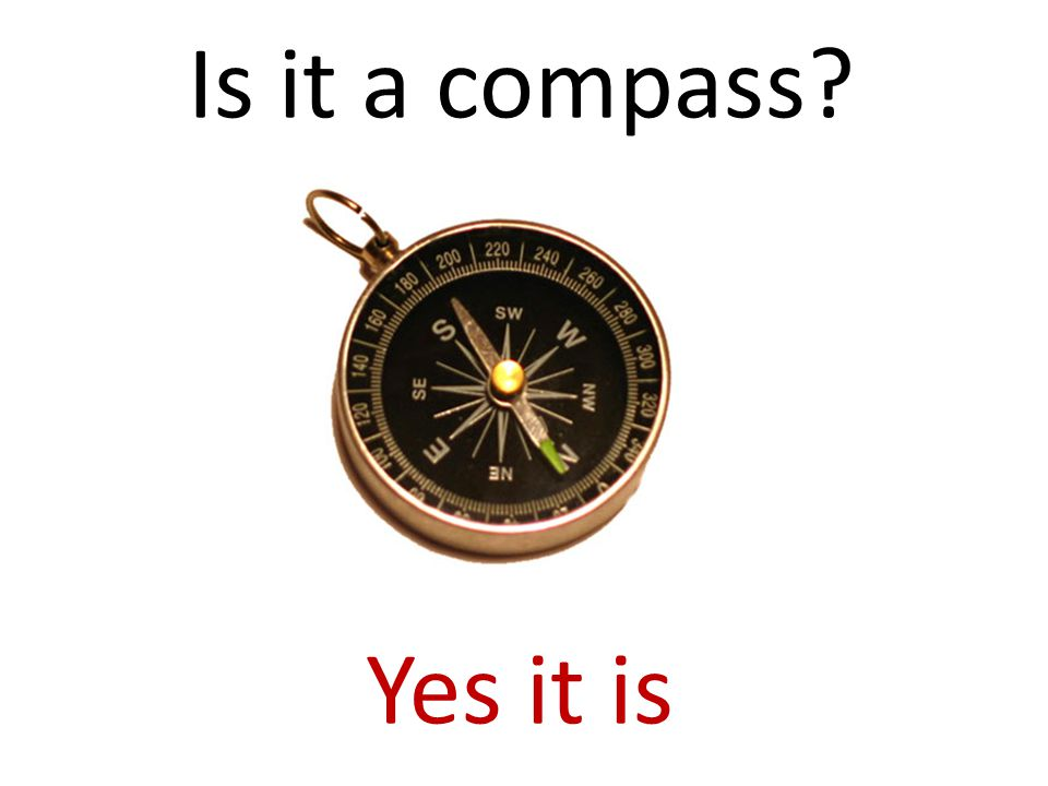 Is it a compass Yes it is