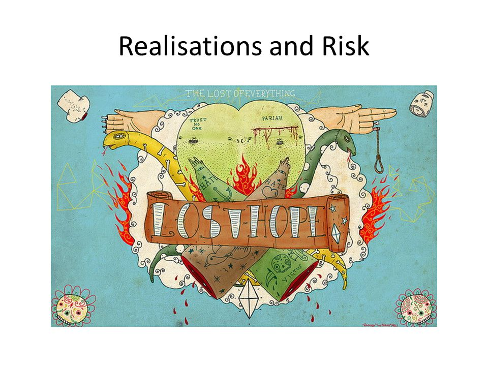 Realisations and Risk